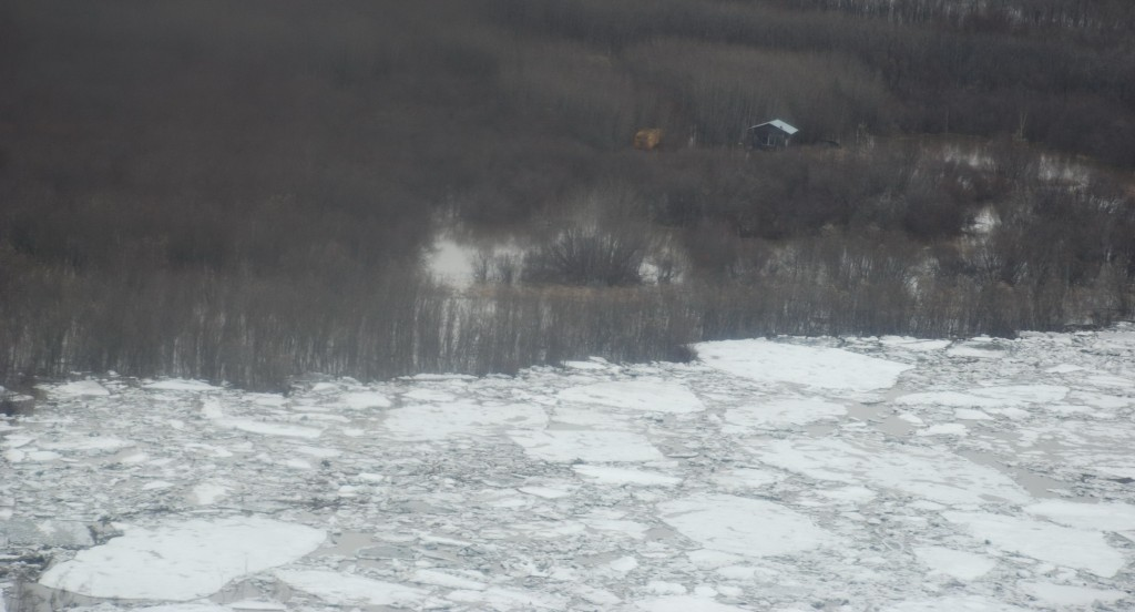 Ice on the Kuskokwim