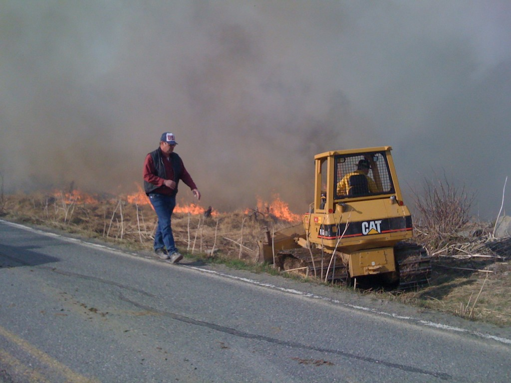 Crews Fought Kenai Wildfire Tuesday and Wednesday