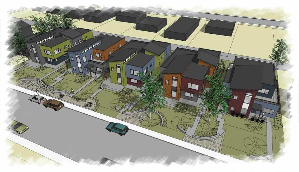 bliss-street-village-townhomes-artist-rendering