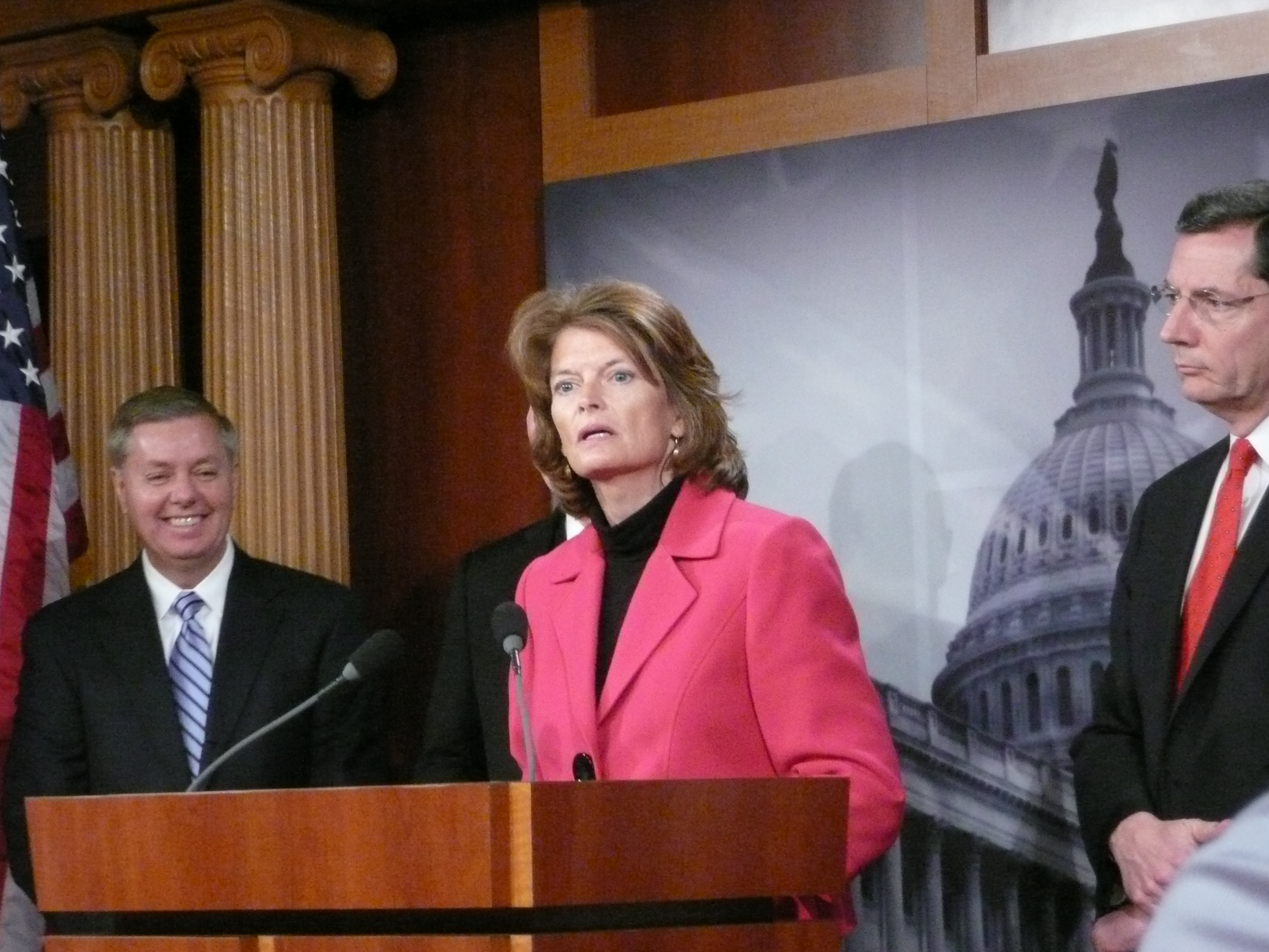 Murkowski Press Conf. 21 09